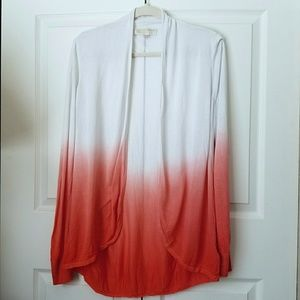 Michael Kors lightweight ombre cardigan